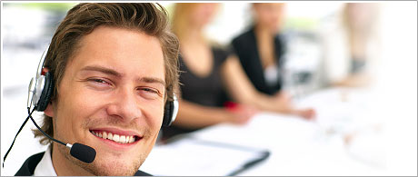 A 24/7 client support service